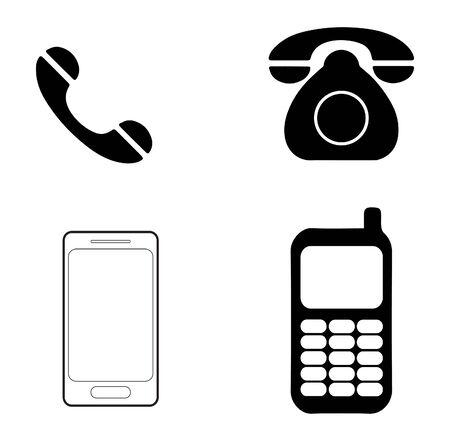Phone, Telephone vector