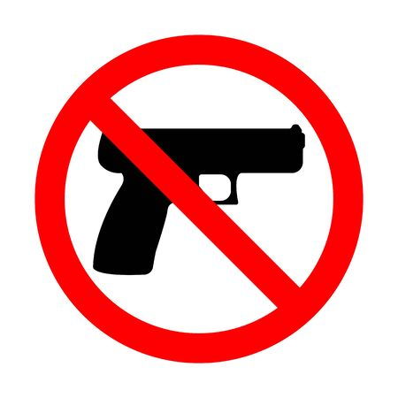 No Gun Sign Imagens - 148847633