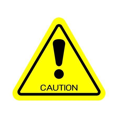Harmful Symbol, Warning sign, Vector illustration, EPS10.