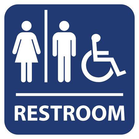 Restroom vector sign Imagens - 148683775
