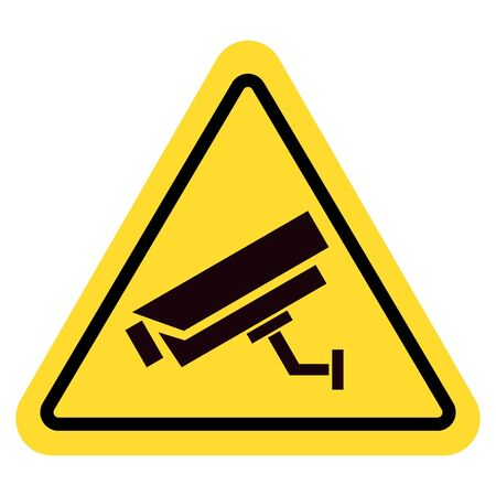 Video surveillance sign. CCTV Camera. Imagens - 148848251