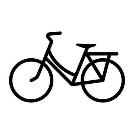 Bike icon vector Imagens - 148690305