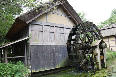 Water mill 写真素材