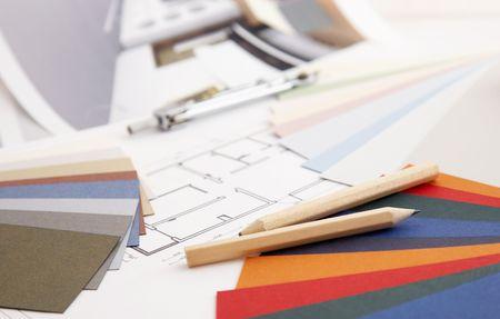 designers desk photo