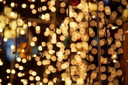 shimmer: holiday lights background.