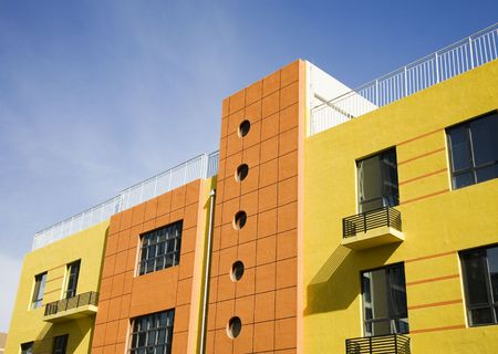 hotel building: Modern building