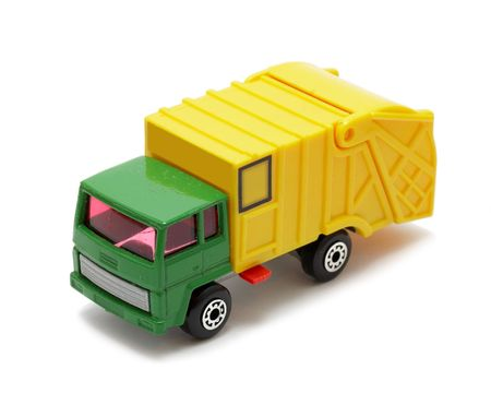 colorful toy truck photo