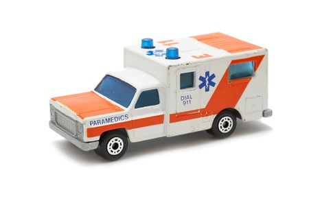 infirmary: Emergency ambulance car
