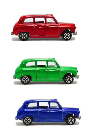 RGB cars photo