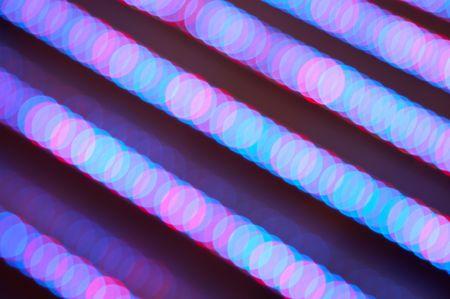 blurry lights: luci di sfondo sfocato.