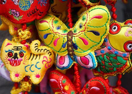 chinese silk decoration Stock Photo - 4691525