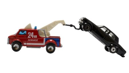 parking violation: tow truck