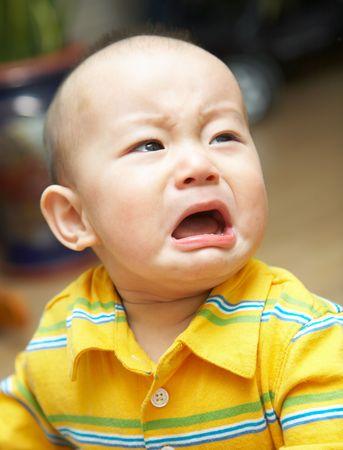 Baby weint Standard-Bild