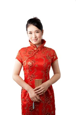 beautiful asian young lady photo
