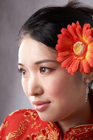 asian woman face photo