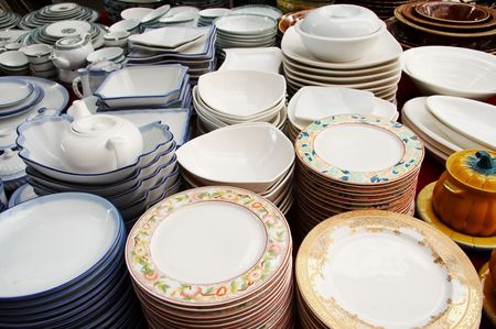 dinnerware shop Stock Photo - 4717879