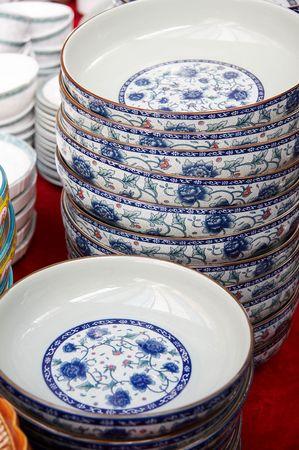 plates (chinese style) photo