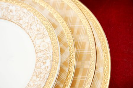 plates - same style, different size. photo