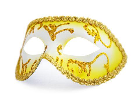 isolated face mask on whit background photo