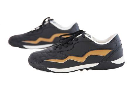 breathable: piedi scarpe isolato su sfondo bianco.