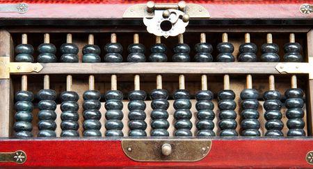 economic revival: Abacus Close up
