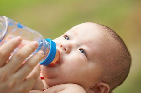 feeding baby photo