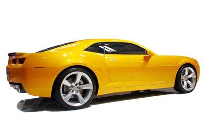 cabrio: luxe auto Stockfoto