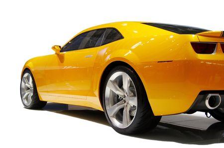car tuning: sports car Editorial