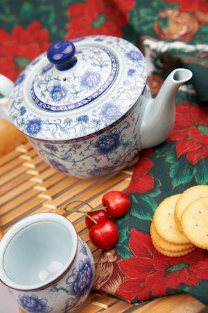 elegant tea set photo
