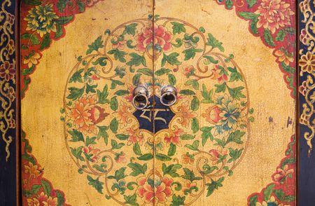 korean fashion: la pintura de flores en los muebles