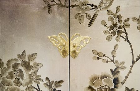 korean fashion: pintura elegante de los muebles