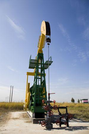 plataforma de petróleo  Foto de archivo - 6002199