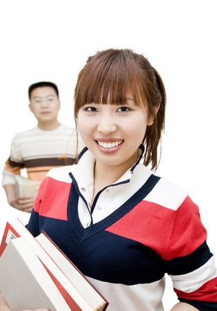 asian young people photo