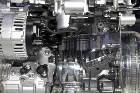diesel fuel: Complex engine of modern car