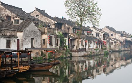 riverside county: water city in China