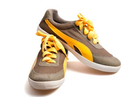 foot ware: canvas shoes