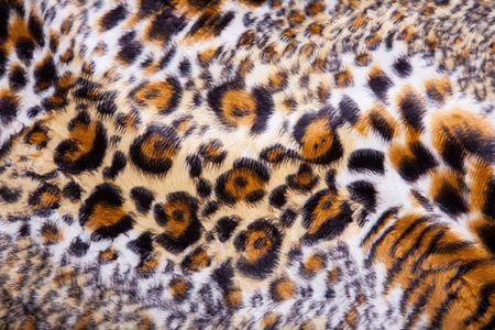 Tissu imprimé de léopard