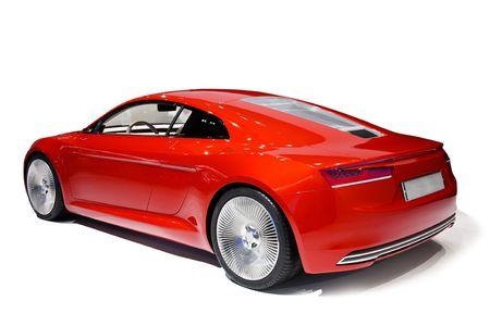 red sports car: car Editorial