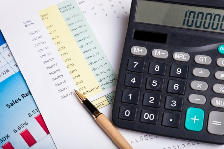 Financial Report Stock Photo - 8330460