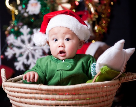 baby kerst: Christmas baby