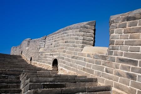 border wall of the great wall of China photo