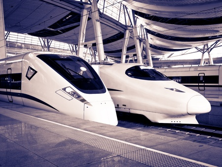 High-Speed Train Stock Photo - 9001047