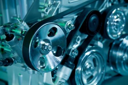 hydrog�ne: moteur de voiture Banque d'images