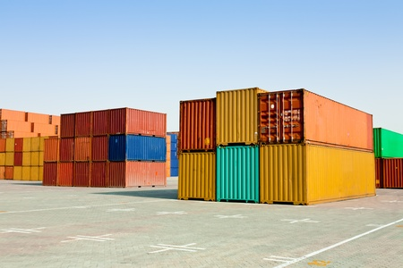 Cargo containers Stock Photo - 10283945