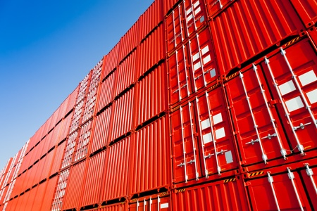cargo containers: Cargo containers Stock Photo