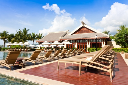 tropical resort, The Ritz-Carlton Sanya, Hainan Island, China