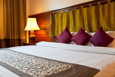 interior of hotel room, Princed Angko rHotel & Spa, Siemreap, Cambodia Stock Photo - 11185691