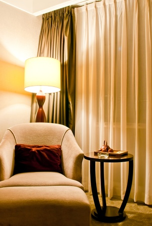 hotel suite: modern hotel interior, Huaying hotel, Qingdao, China Editorial
