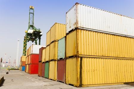 cargor blocks at harbor Stock Photo - 11548986
