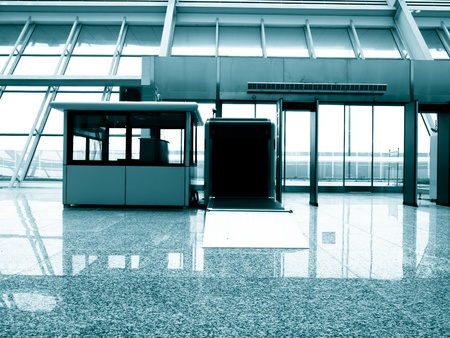 customs: Security check equipment at Suzhou Railway Station, China